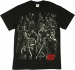 Walking Dead Walkers T Shirt