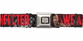 Walking Dead We Are All Infected Seatbelt Belt