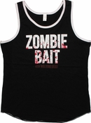 Walking Dead Zombie Bait Ringer Tank Top