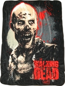 Walking Dead Zombie Blanket