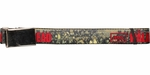 Walking Dead Zombie Group Mesh Belt