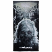 Walking Dead Zombie Heads Towel