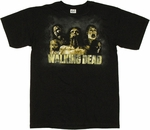 Walking Dead Zombies T Shirt