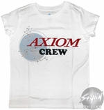 Wall E Axiom Girls Youth T-Shirt