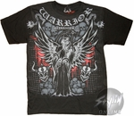 Warrior Wear Angel of Death T-Shirt Sheer