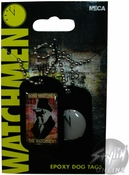 Watchmen Clock Dog Tags