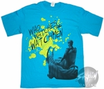 Watchmen Ozymandias Who Watches T-Shirt