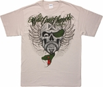 West Coast Choppers Snake Skull T Shirt