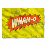 Wham-O Logo Pillow Case