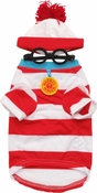 Where's Waldo Pet Costume