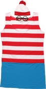 Where's Waldo Wenda Dress Costume