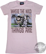 Where the Wild Things Are Buddies Baby Tee