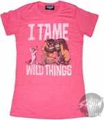 Where the Wild Things Are I Tame Baby Tee