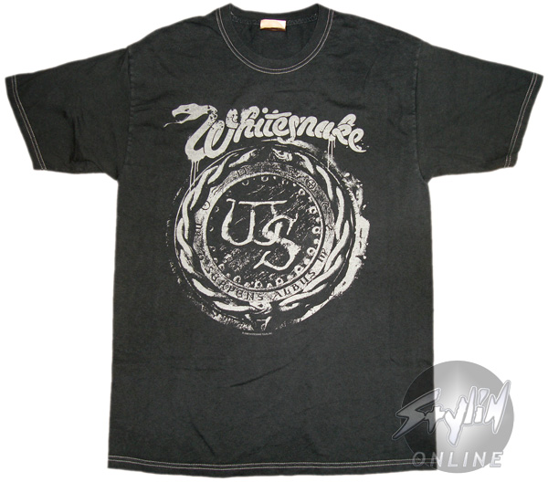 See all results for whitesnake t shirt. Old Glory Whitesnake - Boys Snake Strike Youth T-shirt. by Old Glory. $ $ 17 FREE Shipping on eligible orders. 5 out of 5 stars 1. Product Description on the snake's eyes and tongue add bite to this Whitesnake shirt. Wopson Men's Whitesnake .