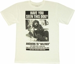 Wilfred Lost Dog T Shirt