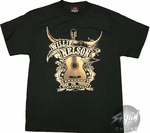 Willie Nelson Guitar T-Shirt