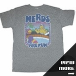 Willy Wonka Junk Food Shirts