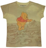 Winnie the Pooh Sublimated Baby Tee