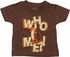 Winnie the Pooh Tigger Who Me Infant T-Shirt