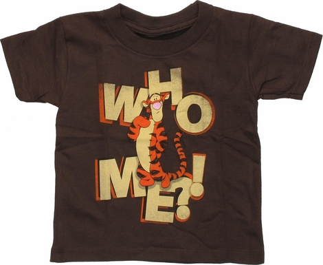 Winnie the Pooh Tigger Who Me Toddler T-Shirt
