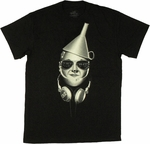 Wizard of Oz DJ Tin Man T Shirt