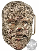 Wolfman Face Belt Buckle