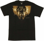 Wolfman Face T-Shirt