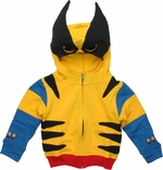 Wolverine Classic Costume Toddler Hoodie