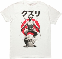 Wolverine Kuzuri Swords T Shirt Sheer