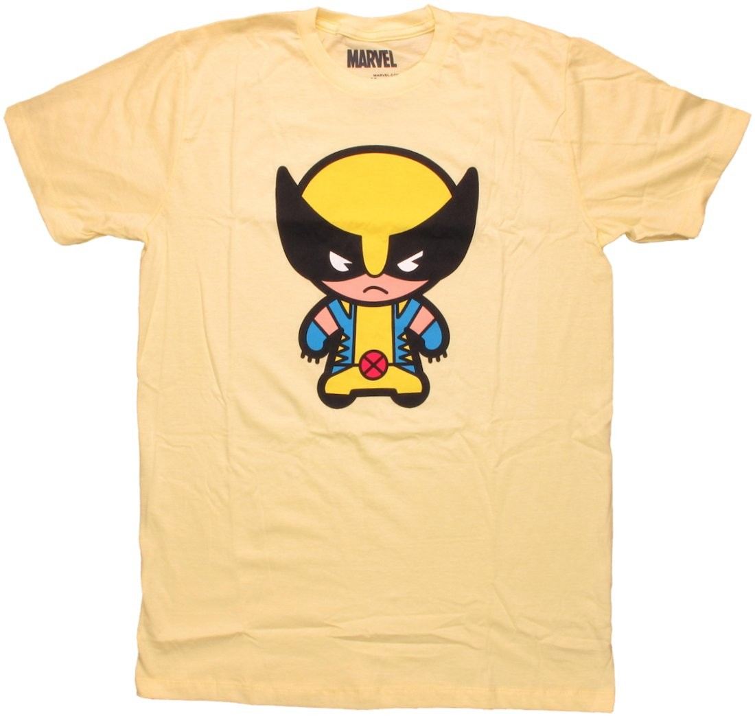 Wolverine Toon Yellow T Shirt