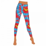 Wonder Woman Burst Footless Tights