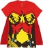 Wonder Woman Cape Baby Tee