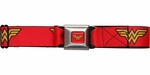 Wonder Woman Classic Logo Seatbelt Belt