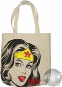 Wonder Woman Face Bag