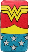 Wonder Woman Glitter Clutch Wallet