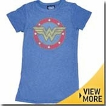 Wonder Woman Junk Food Girls Shirt