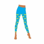 Wonder Woman Logo Footless Tights