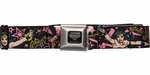 Wonder Woman Pink Stars Seatbelt Belt