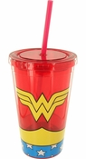 Wonder Woman Uniform Travel Cup