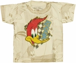 Woody Woodpecker Face Toddler T Shirt