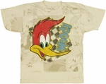 Woody Woodpecker Face Youth T Shirt