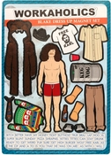 Workaholics Blake Dress Up Magnet Set