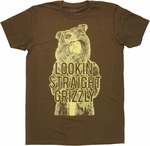 Workaholics Grizzly T Shirt Sheer