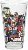 WWE Legends Road Warriors Pint Glass