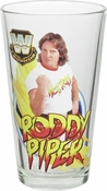 WWE Legends Rowdy Roddy Piper Pint Glass