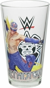 WWE Rey Mysterio Pint Glass