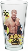 WWE Triple H Pint Glass