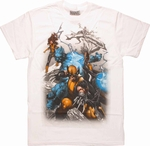 X Men Attack Stance T Shirt