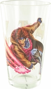 X Men Gambit Card Throw Pint Glass