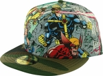 X Men Group Camo Visor 59FIFTY Hat
